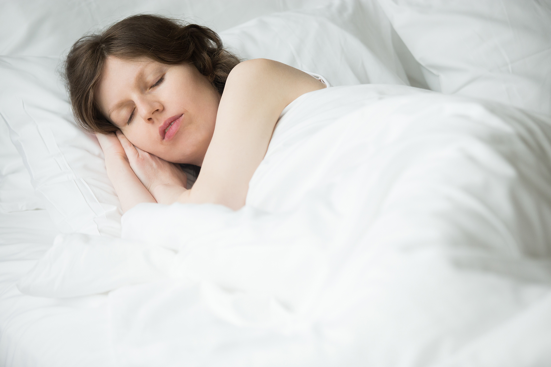 Dormir sobre o lado esquerdo do corpo é melhor.