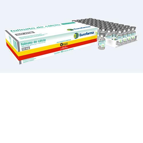 Folinato de Cálcio 50mg