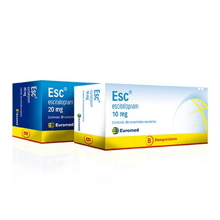 Esc 20 mg | Eurofarma
