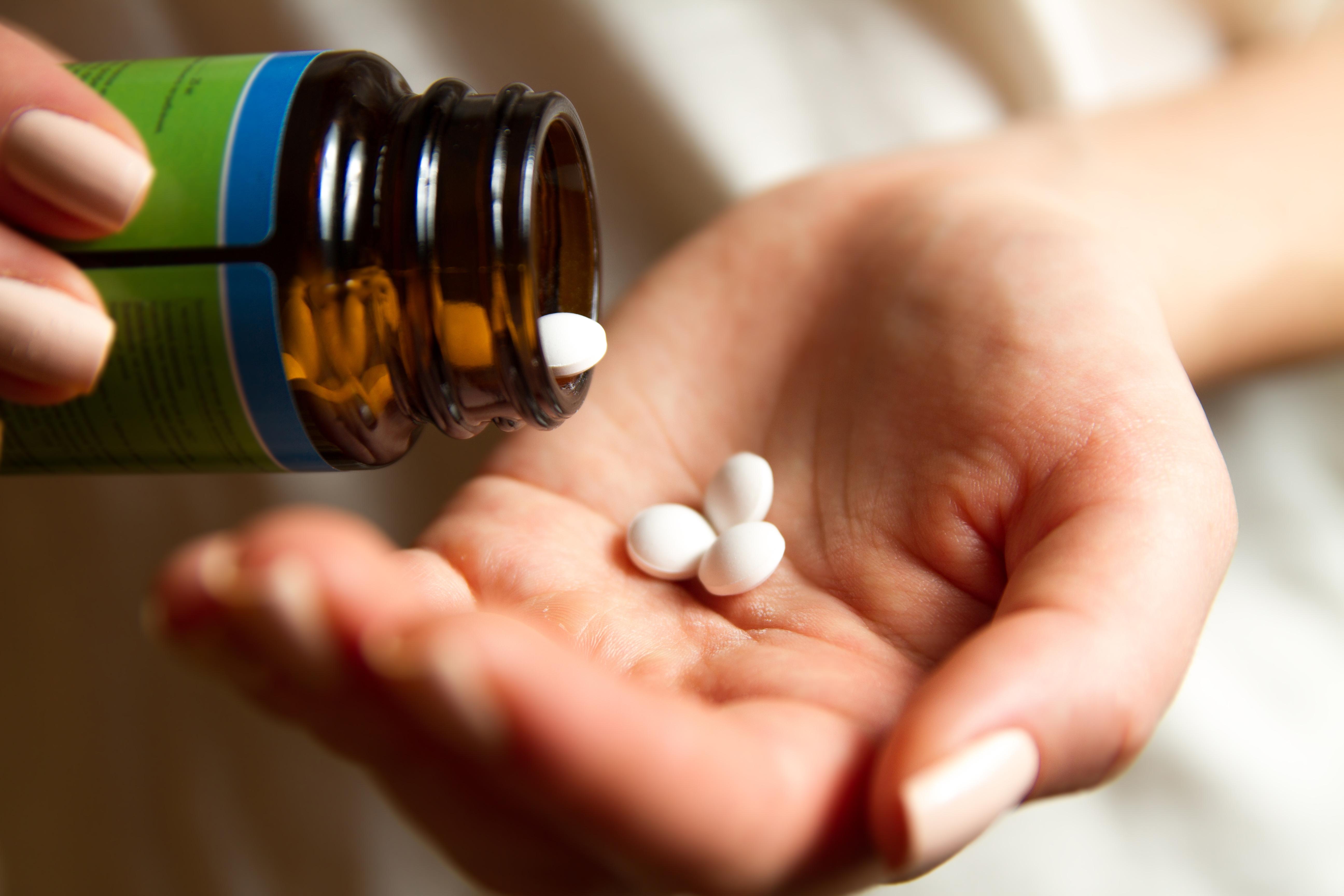 A automedicação pode causar choque anafilático.