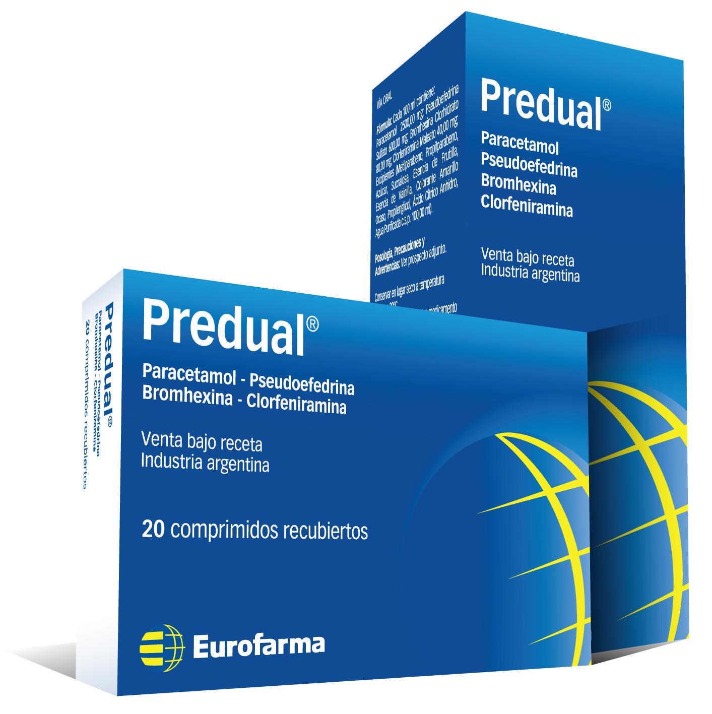 Predual Comprimidos Recubiertos / Jarabe