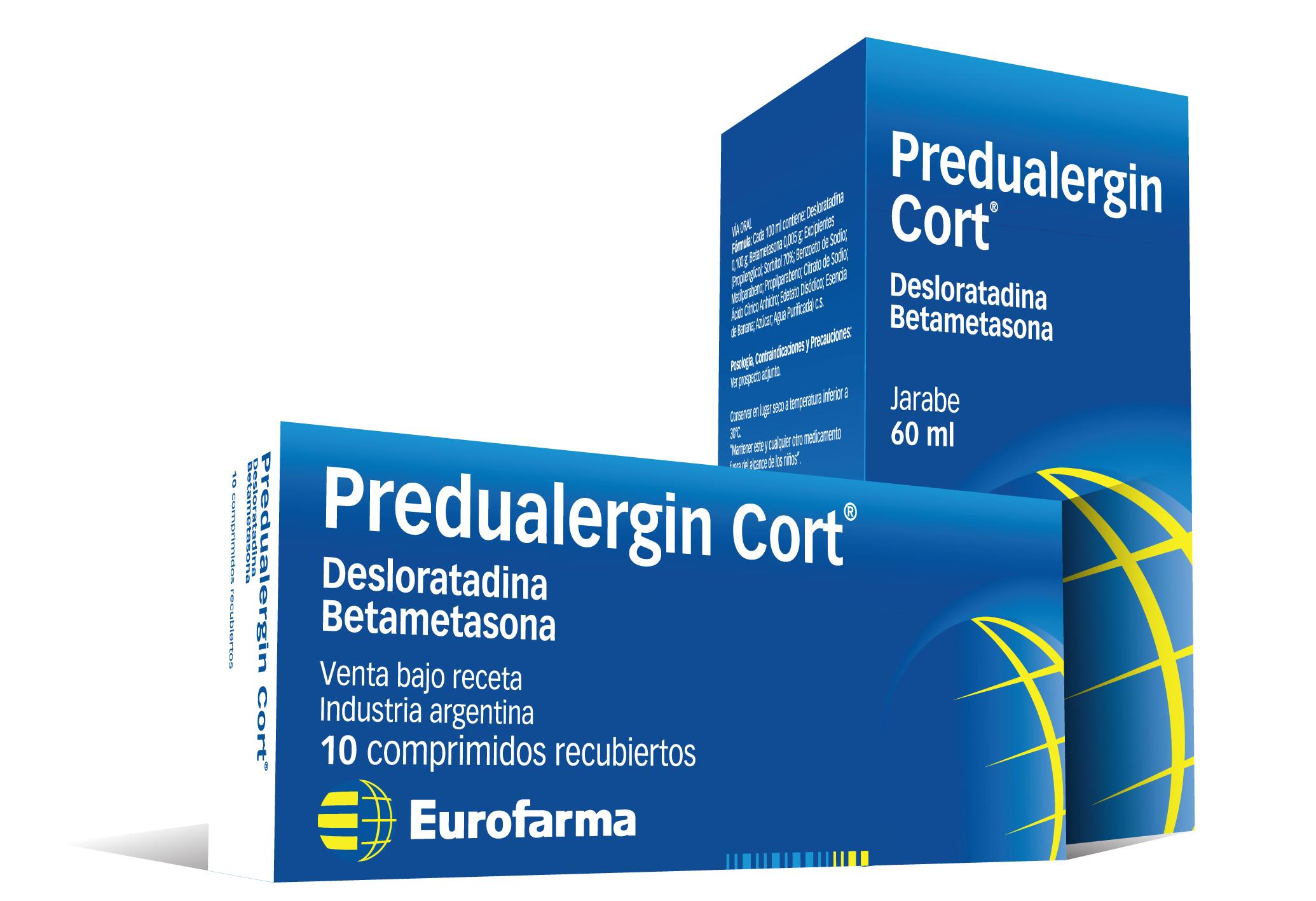 Predualergin Cort 10 Comprimidos Recubiertos / Jarabe 60 ml